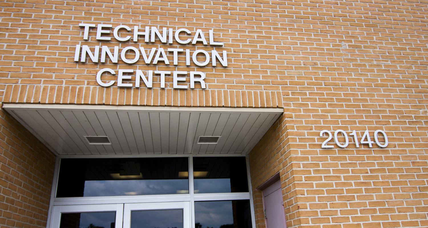 exterior of technical innovation center buillding