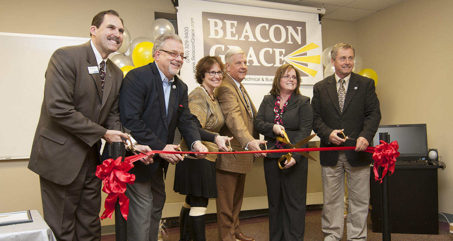 Beacon Grace ribbon cutting ceremony